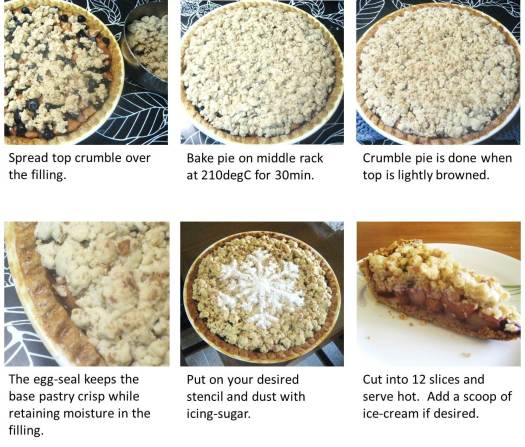 Apple-blueberry crumble - page 5